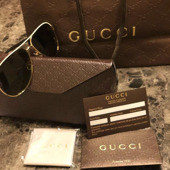 ea92e1267e7 Authentic Gucci Aviator GG4239 S BOAED✨